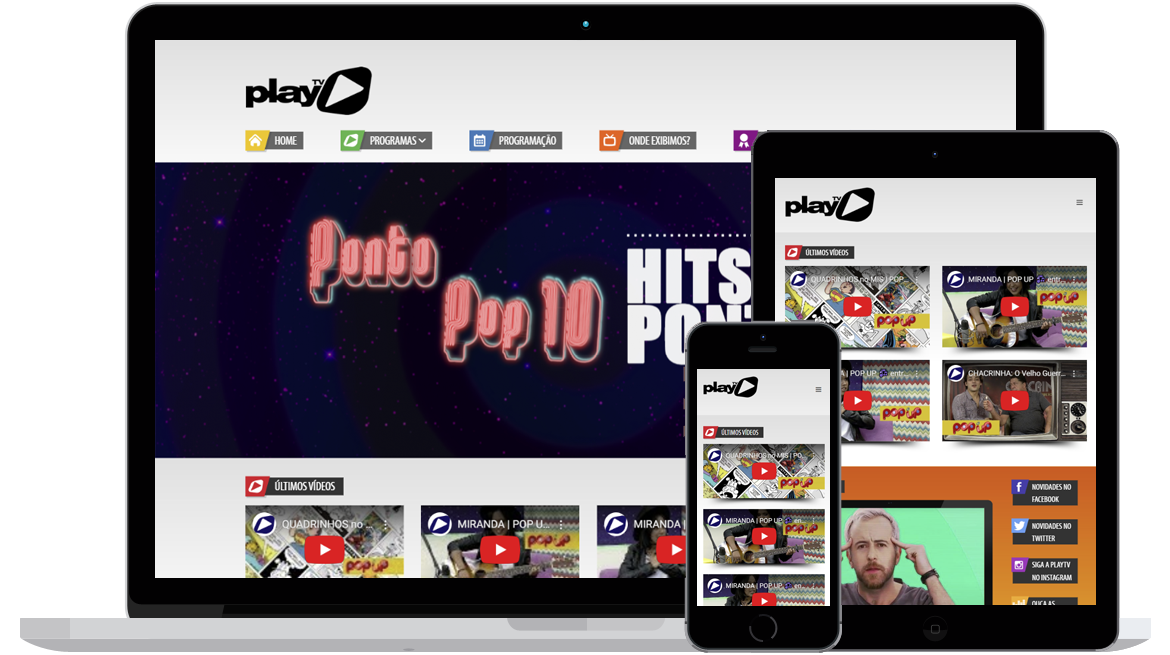 site PlayTV